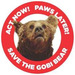 Save the Gobi Bear logo